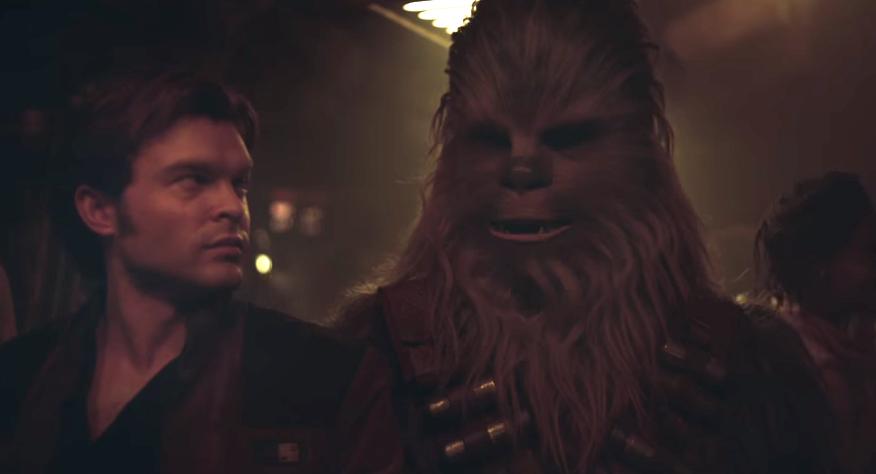 "Szene aus ""Solo: A Star Wars Story"""
