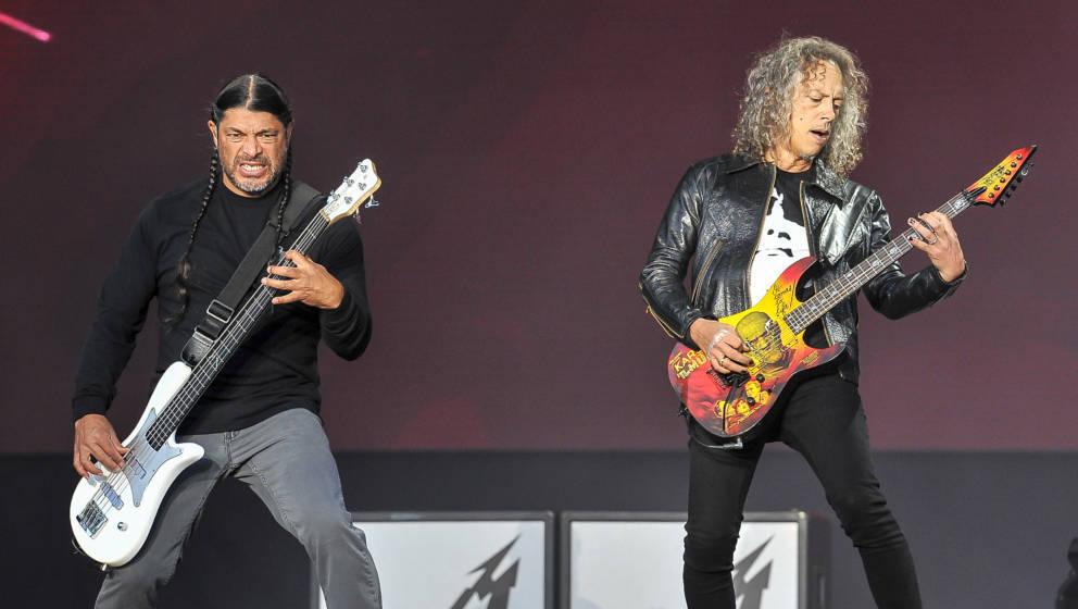 Robert Trujillo und Kirk Hammett
