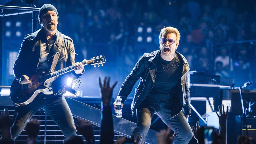 Bono und The Edge von U2