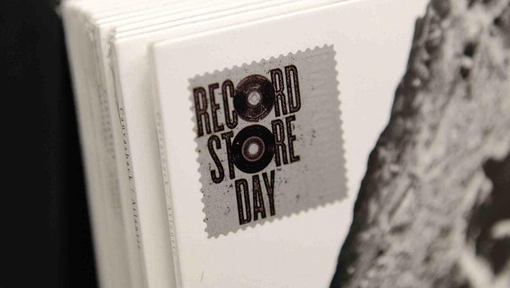 LONDON, UNITED KINGDOM - APRIL 20: General view of Record Store Day vinyl at Rough Trade East on April 20, 2013 in London, En