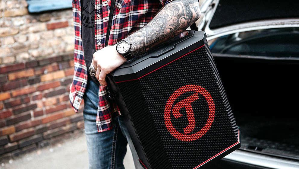 Der XL-Bluetooth-Speaker ROCKSTER AIR von Teufel