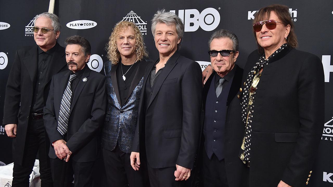 """Bon Jovi: Einführung in die """"Rock And Roll Hall Of Fame"""""""