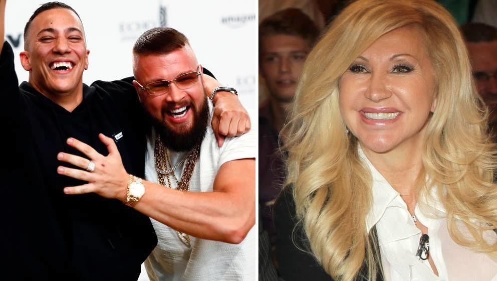Carmen Geiss hat Kollegah und Farid Bang kritisiert – deren Fans reagierten mit Beleidigungen und sogar Todesdrohungen