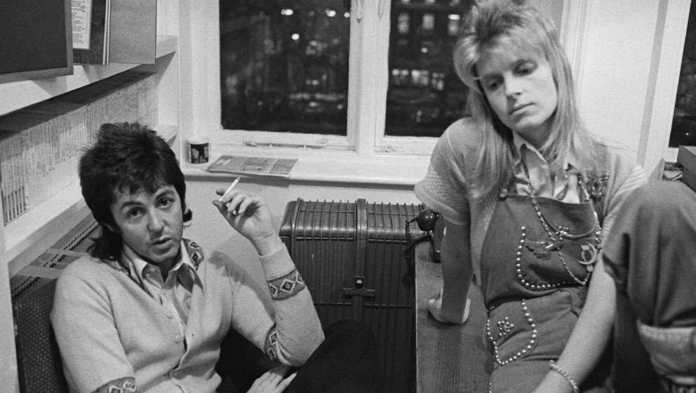 Gemeinsam glücklich, gemeinsam in einer Band: Paul und Linda McCartney