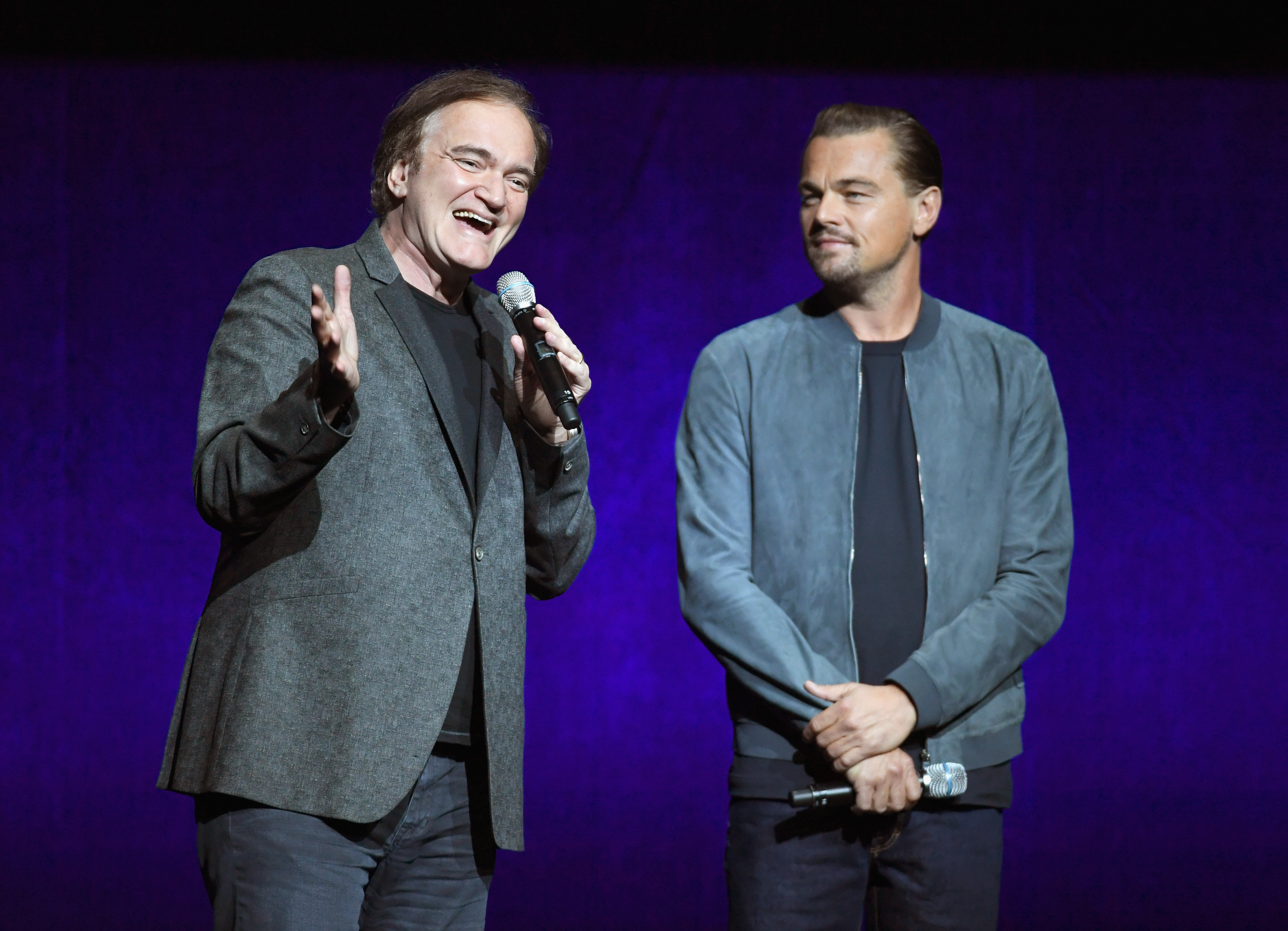 "Quentin Tarantino im Gespräch mit Leonardo DiCaprio über ""Once Upon A Time In Hollywood"""