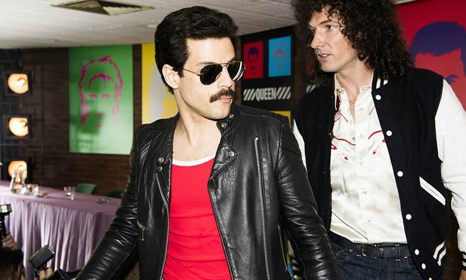 """Rami Malek (Freddie Mercury) und Gwilym Lee (Brian May) in """"Bohemina Rhapsody"""""""