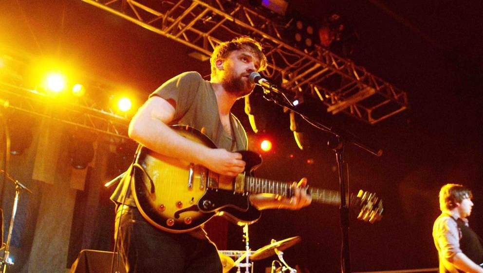 Frightened Rabbit performing at Carling Academy Sheffield