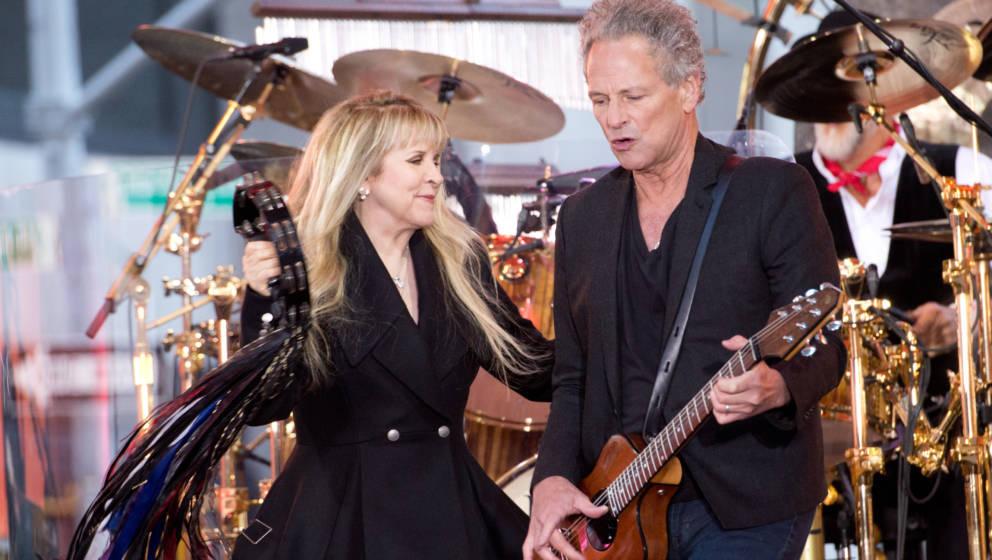 Trügerische Idylle? Stevie Nicks und Lindsey Buckingham von Fleetwood Mac
