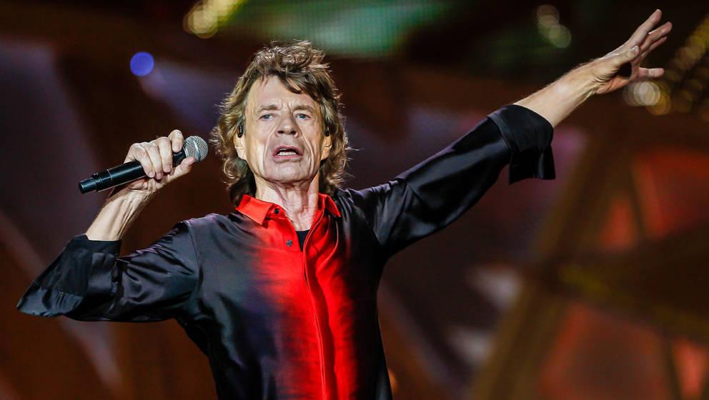 Mick Jagger ist selbst im Alter immer noch sehr beweglich
