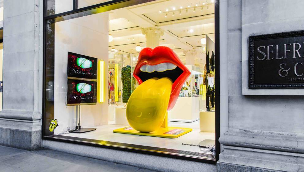 Einblick in den Pop-Up-Store der Rolling Stones in London