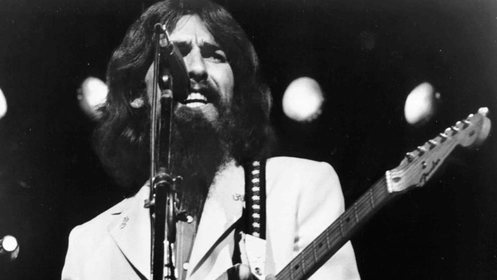George Harrison beim Concert for Bangladesh