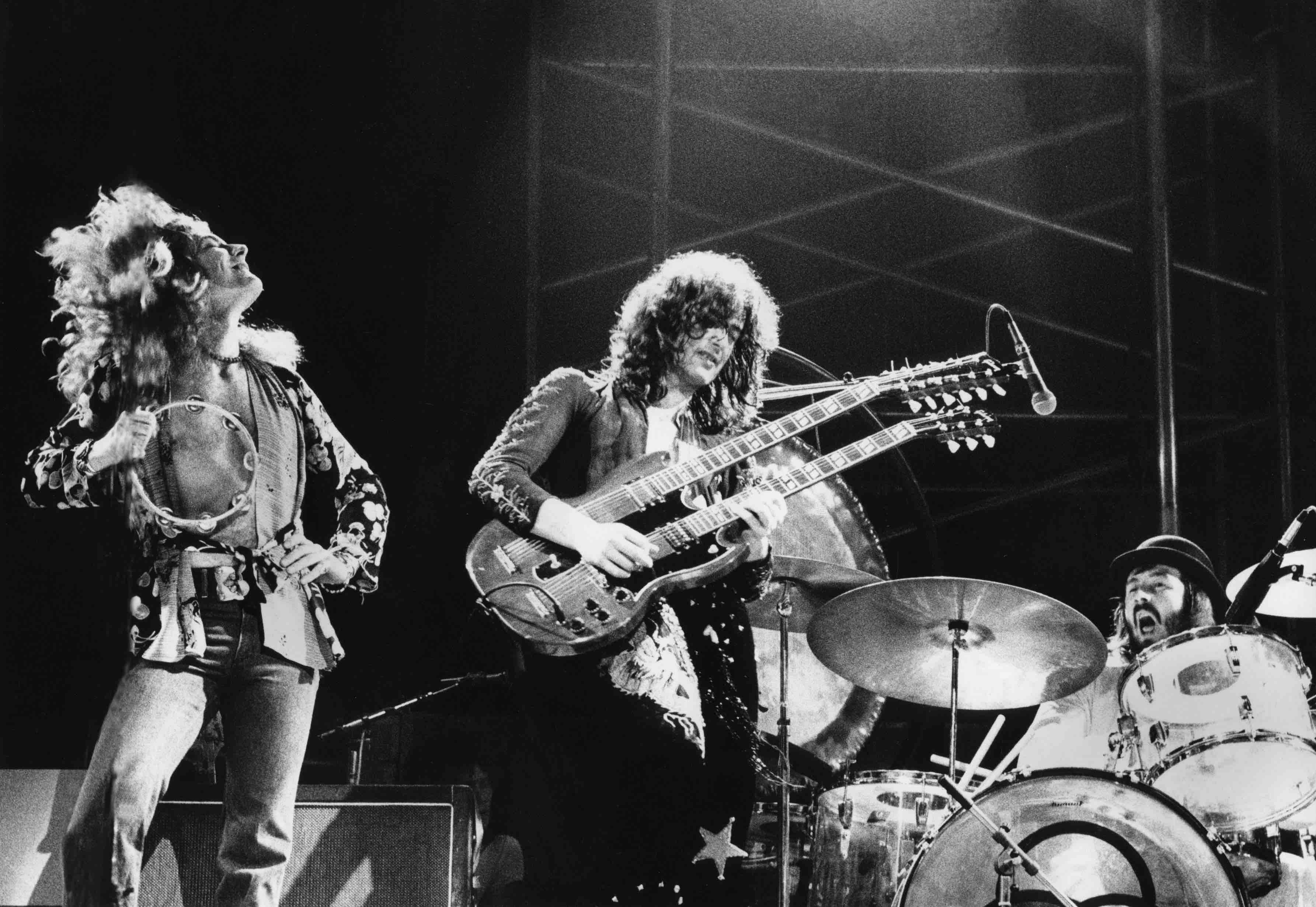 Led Zeppelin live 1973