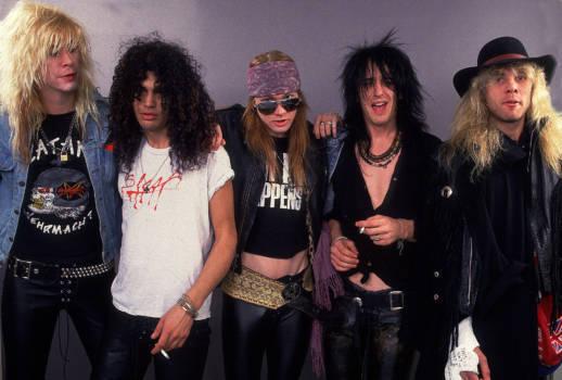 Guns N'Roses im Jahr 1987