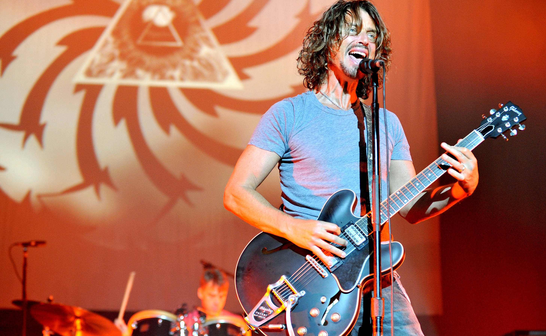 Chris Cornell und Matt Cameron