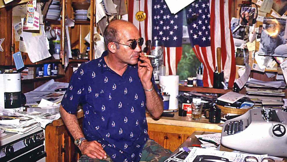 ROLLING-STONE-Autorenlegende Hunter S. Thompson