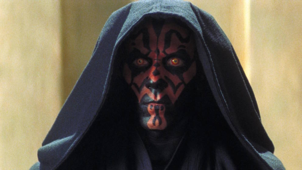"Darth Maul in ""Die dunkle Bedrohung"" 1999"