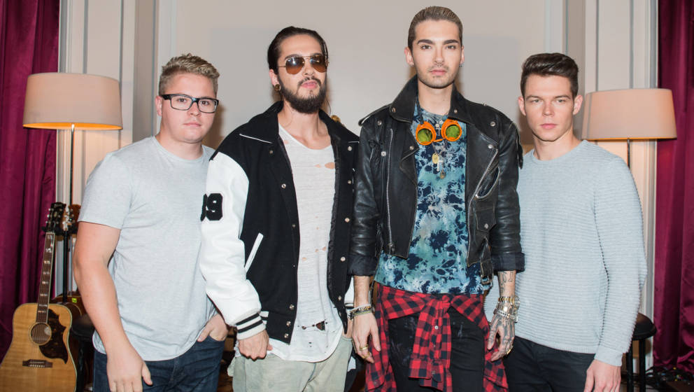 Tokio Hotel: Bill Kaulitz, Tom Kaulitz, Georg Listing und Gustav Schäfer