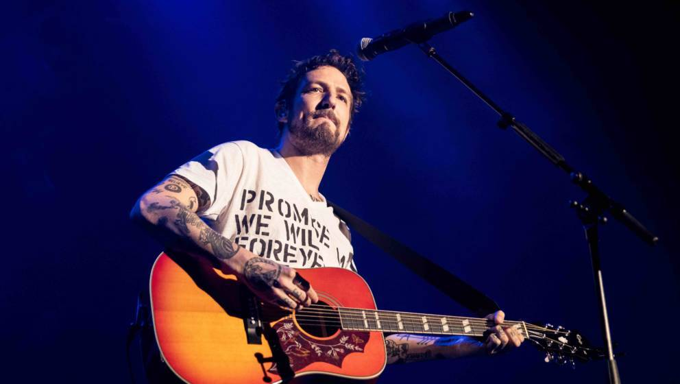 LONDON, ENGLAND - MAY 13: Frank Turner performs at Roundhouse on May 13, 2018 in London, England. (Photo by Venla Shalin/Redf