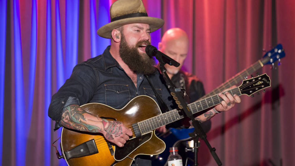 LOS ANGELES, CA - OCTOBER 26:  Musician Zac Brown of the Zac Brown Band performs onstage during An Evening With Zac Brown Ban