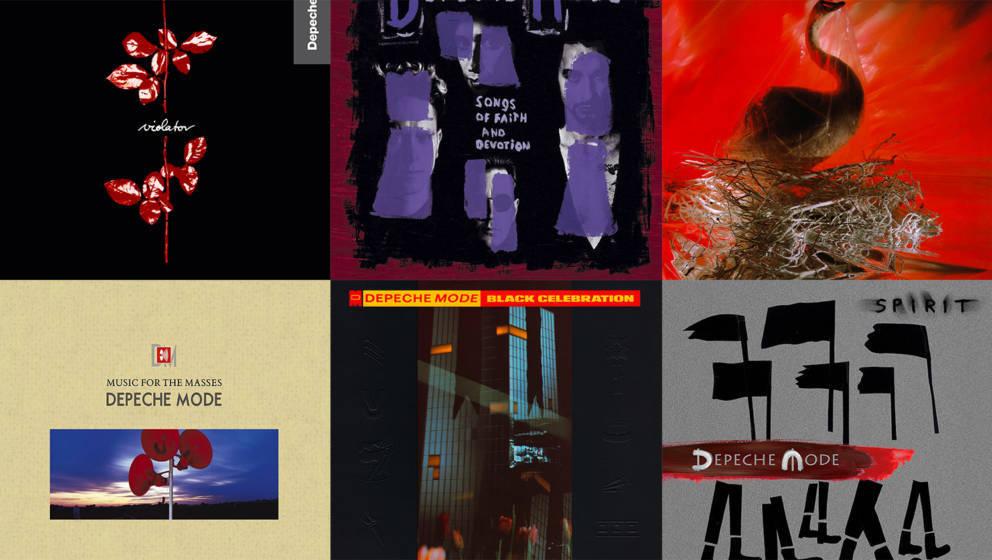 Alle Depeche-Mode-Alben im Ranking
