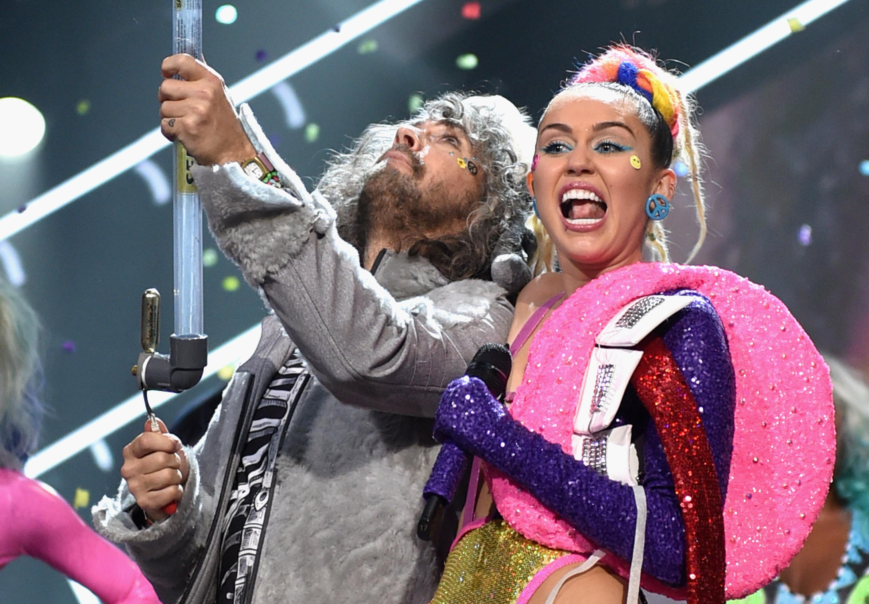 BFF: Wayne Coyne von den Flaming Lips und Miley Cyrus