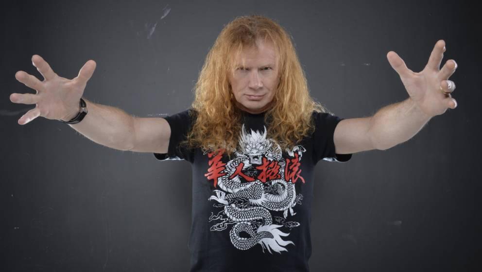 Dave Mustaine ist sauer und enttäuscht und hätte gerne seinen fairen Metallica-Anteil