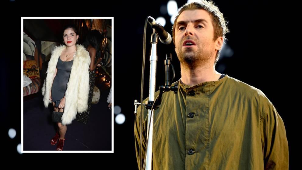 Molly Moorish und ihr Vater Liam Gallagher