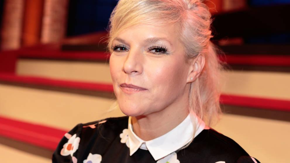 """Ina Müller - die Moderatorin von """"Inas Nacht"""" - ließ sich die Stimmung nicht vermiesen"""