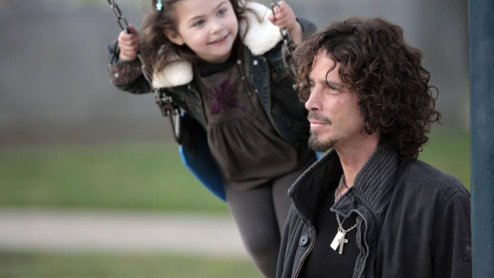 Besondere Beziehung: Toni Cornell und ihr Vater Chris Cornell im Jahr 2009