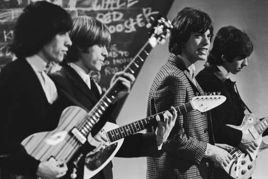 Bill Wyman, Brian Jones (1942 - 1969), Mick Jagger und Keith Richards