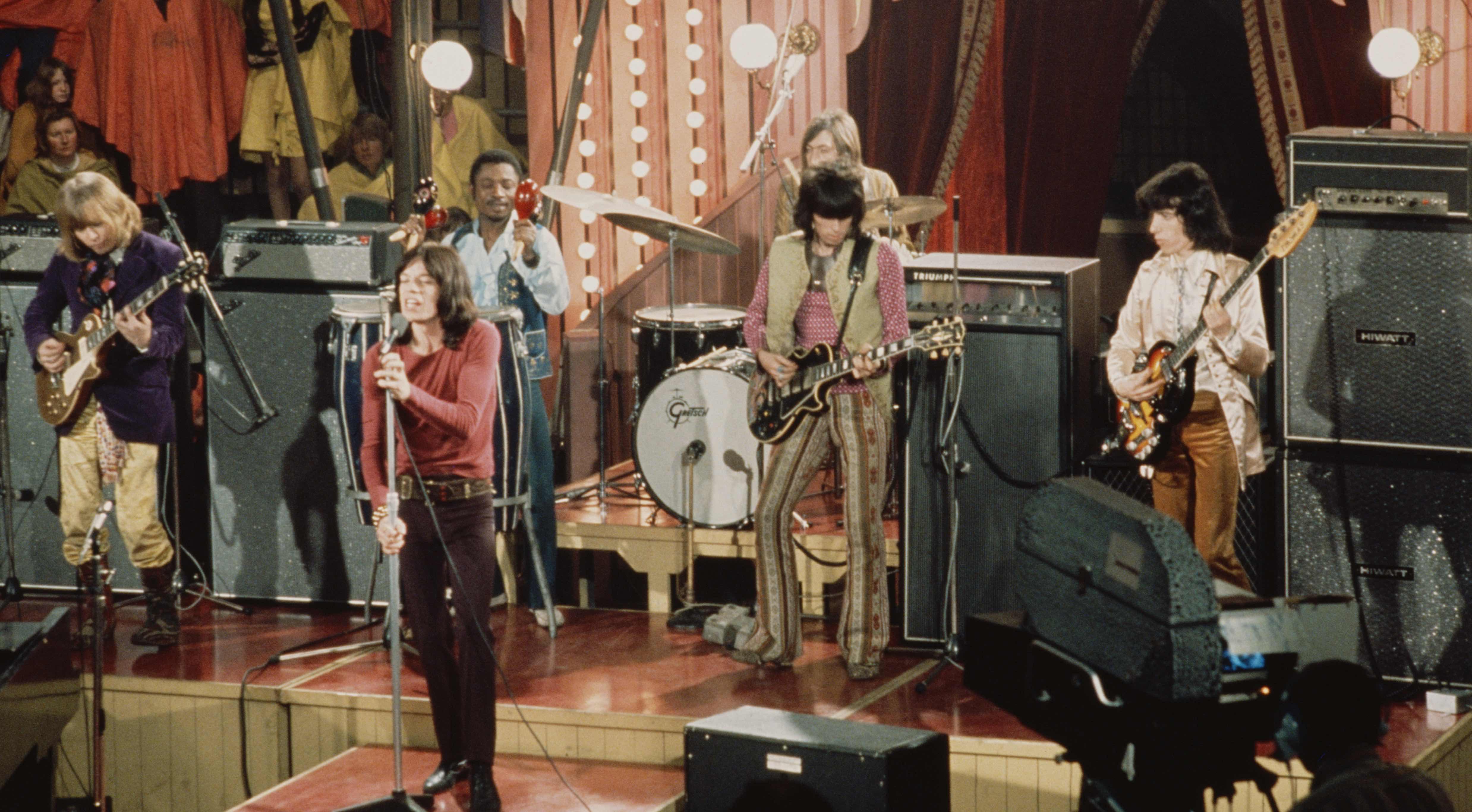 Die Rolling Stones im Rock'n'Roll Circus