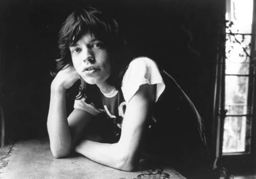 1970: Mick Jagger im Portrait (Foto ist nicht Teil der Ausstellung)