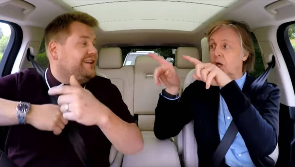 Paul McCartney und James Corden singen Hits der Beatles