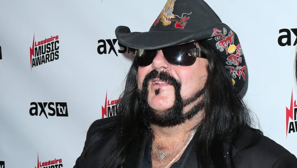 LOS ANGELES, CA - OCTOBER 24:  Vinnie Paul of the Metal Band Pantera attends the Loudwire Music Awards at The Novo by Microso