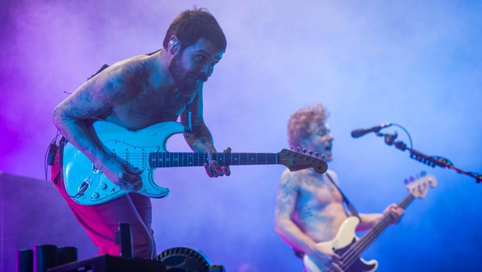 23.06.2018, Eichenring , Scheessel, GER, Festival, Konzert,Hurricane, Band  im BildBiffy ClyroFoto © Rojahn
