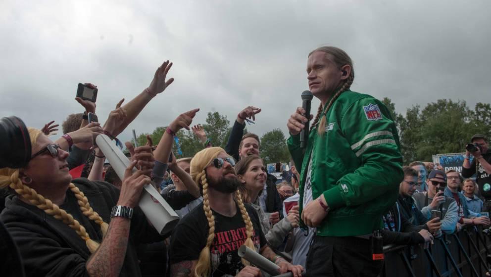 23 06.2018, Eichenring , Scheessel, GER, Festival, Konzert,Hurricane, Band  im BildRomanoFoto © Rojahn