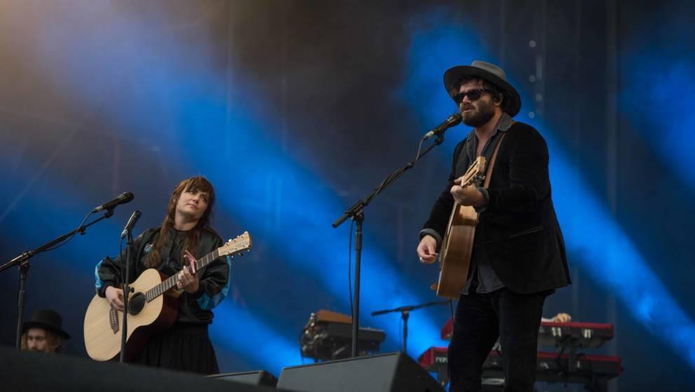 24.06.2018, Eichenring , Scheessel, GER, Festival, Konzert,Hurricane, Band  im Bild#Angus & JuliaFoto © Rojahn