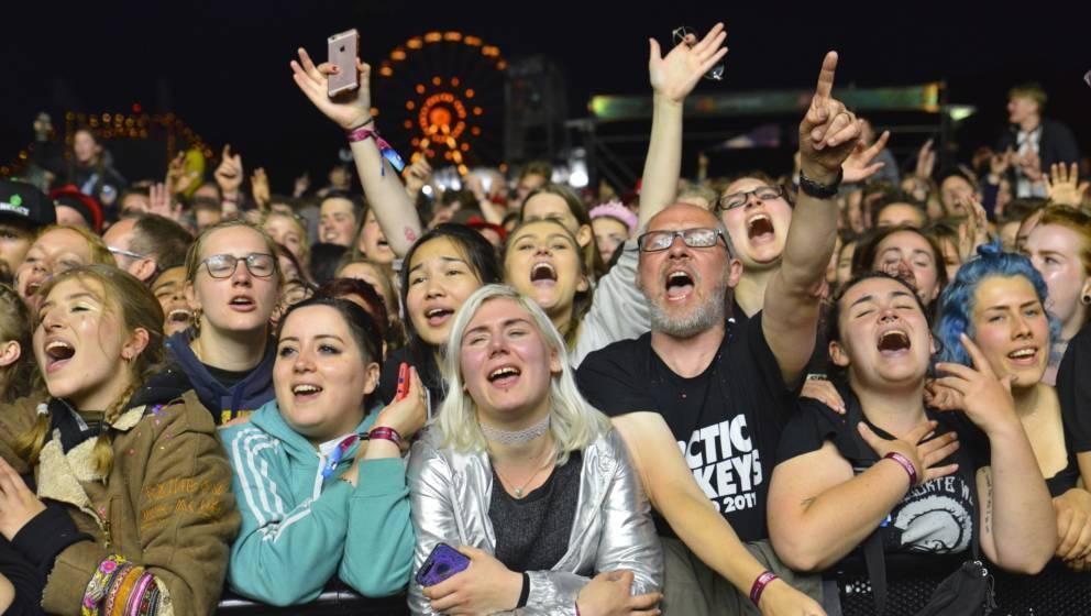 Das Publikum beim Hurricane 2018