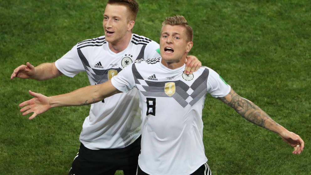 Gier-Gesicht: Toni Kroos schießt Deutschland zum Sieg gegen Schweden