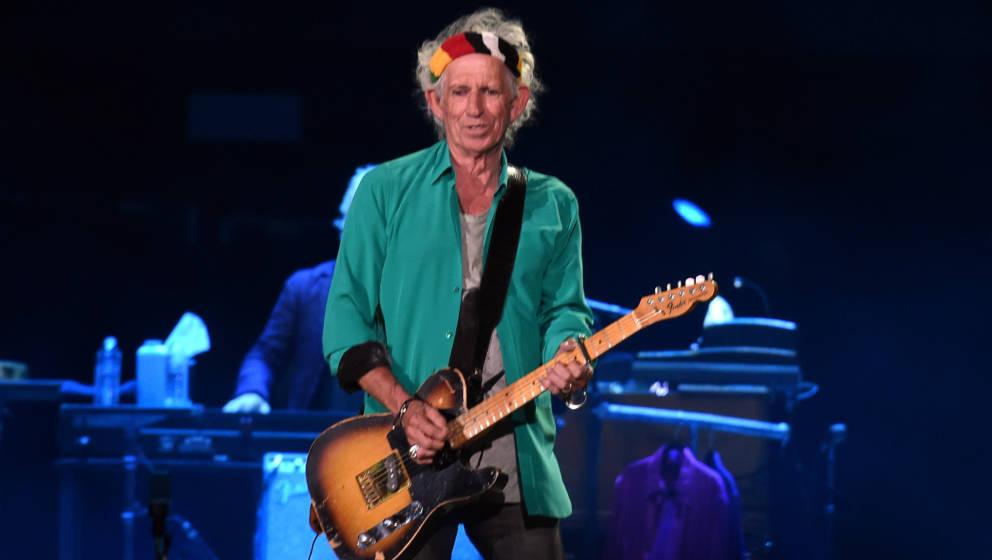 Keith Richards will weiter machen, so lange es geht. Dafür tut er auch einiges für seine Gesundheit.