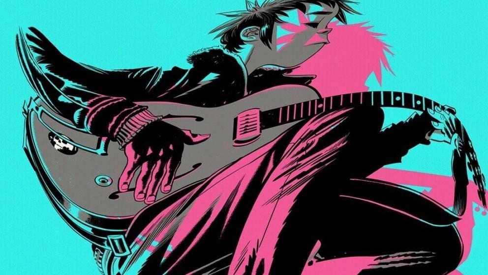 """Cover-Artwork von """"The Now Now"""" - Gorillaz"""