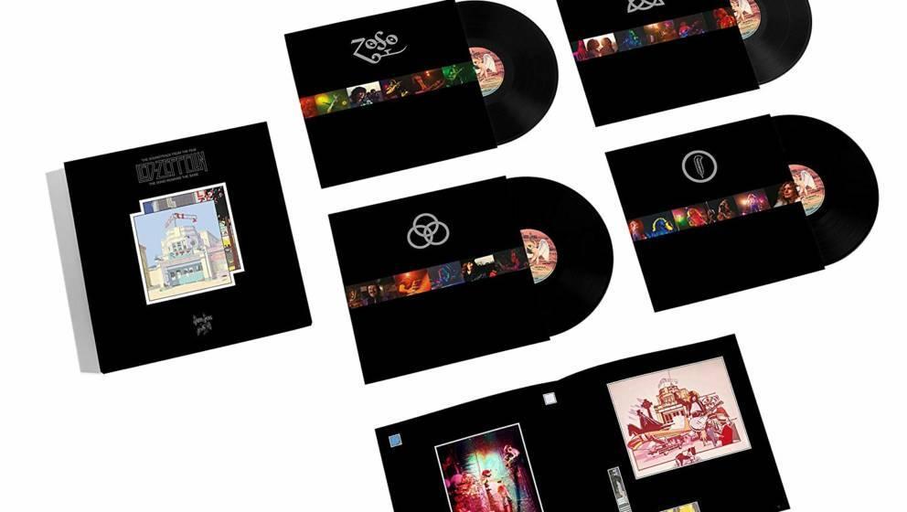"""Cover-Artwork für die Vinyl-Edition von Led Zeppelins """"The Song Remains The Same"""""""