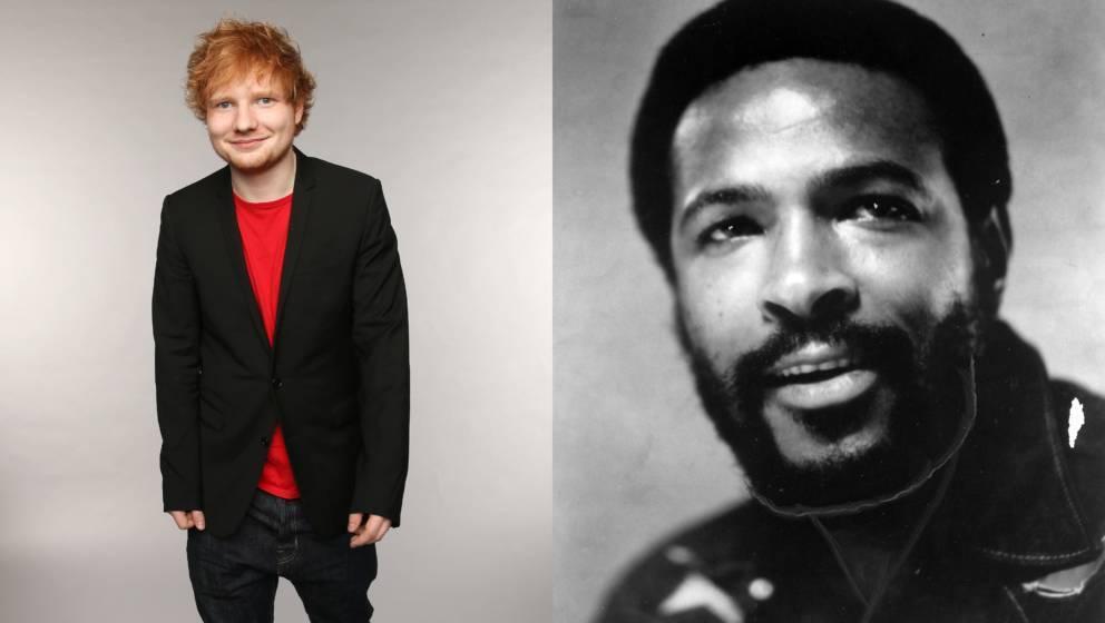 Ed Sheeran hat anscheinend einmal zu oft Marvin Gaye gehört