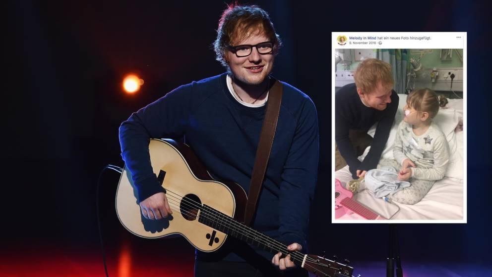Ed Sheeran mit der kleinen Melody Driscoll