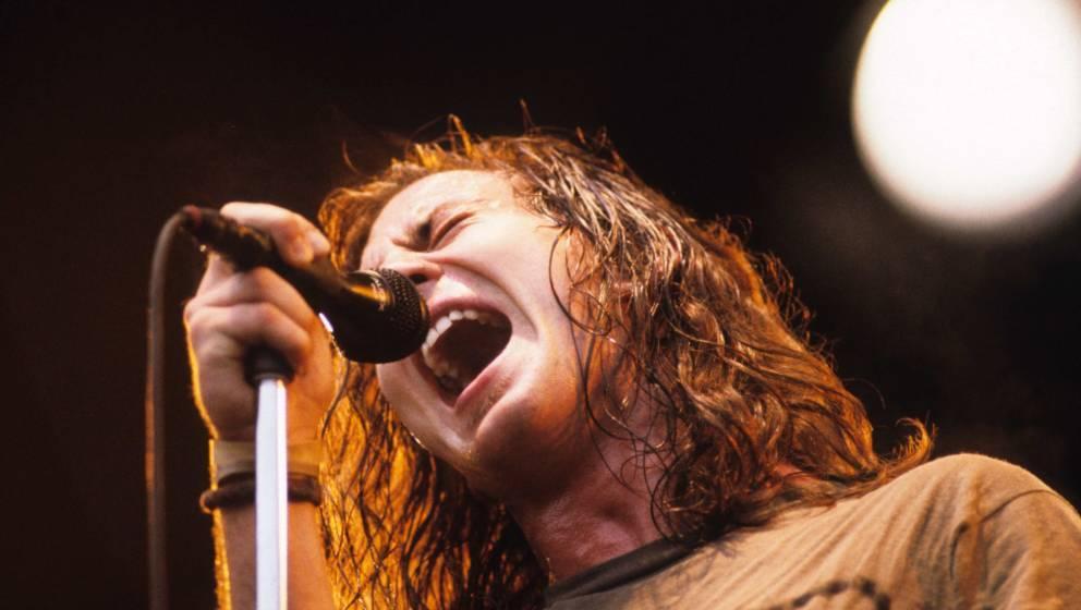 Eddie Vedder von Pearl Jam (1992)