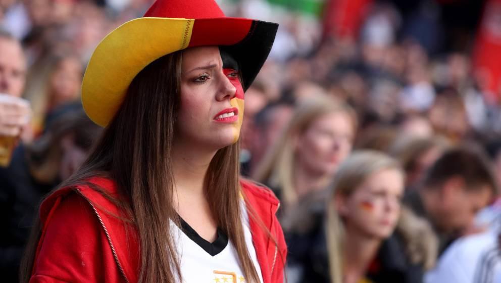 Deutsche Fans sollten sich über das Ausscheiden ihrer Mannschaft freuen