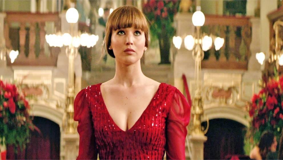 "Szene aus ""Red Sparrow"" mit Jennifer Lawrence in der Hauptrolle"