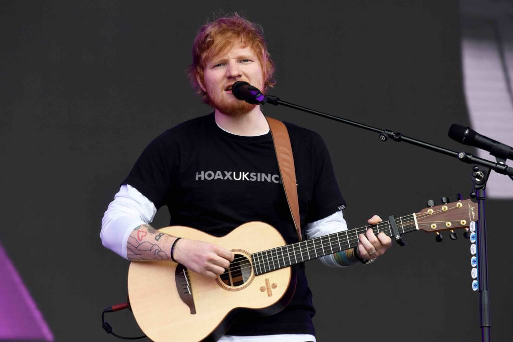 Ed Sheeran X Tour Setlist