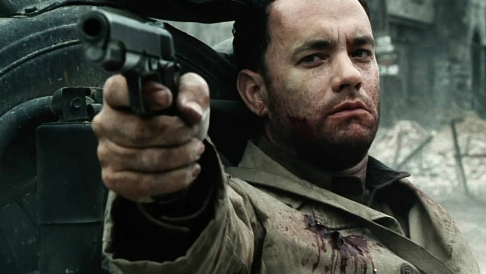 "Captain John Miller (Tom Hanks) in ""Saving Private Ryan"""