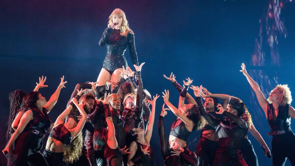 LANDOVER, MD - July 10th, 2018 - Taylor Swift performs at FedEx Field in Landover, MD as part of her Reputation Tour. The tou